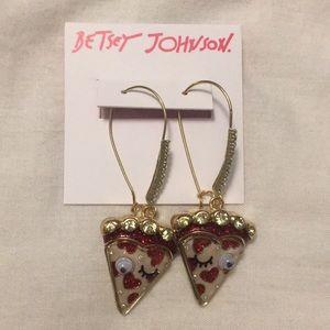 Brand New Never Worn Betsey Johnson Earrings